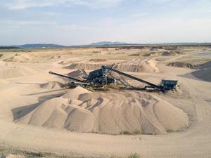Písek, kamenivo, ukládka inertního odpadu Žabčice